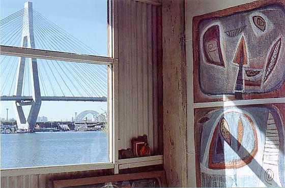 Marlene Sarrof's studio