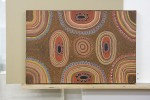 Aboriginal dot painting acrylic on canvas