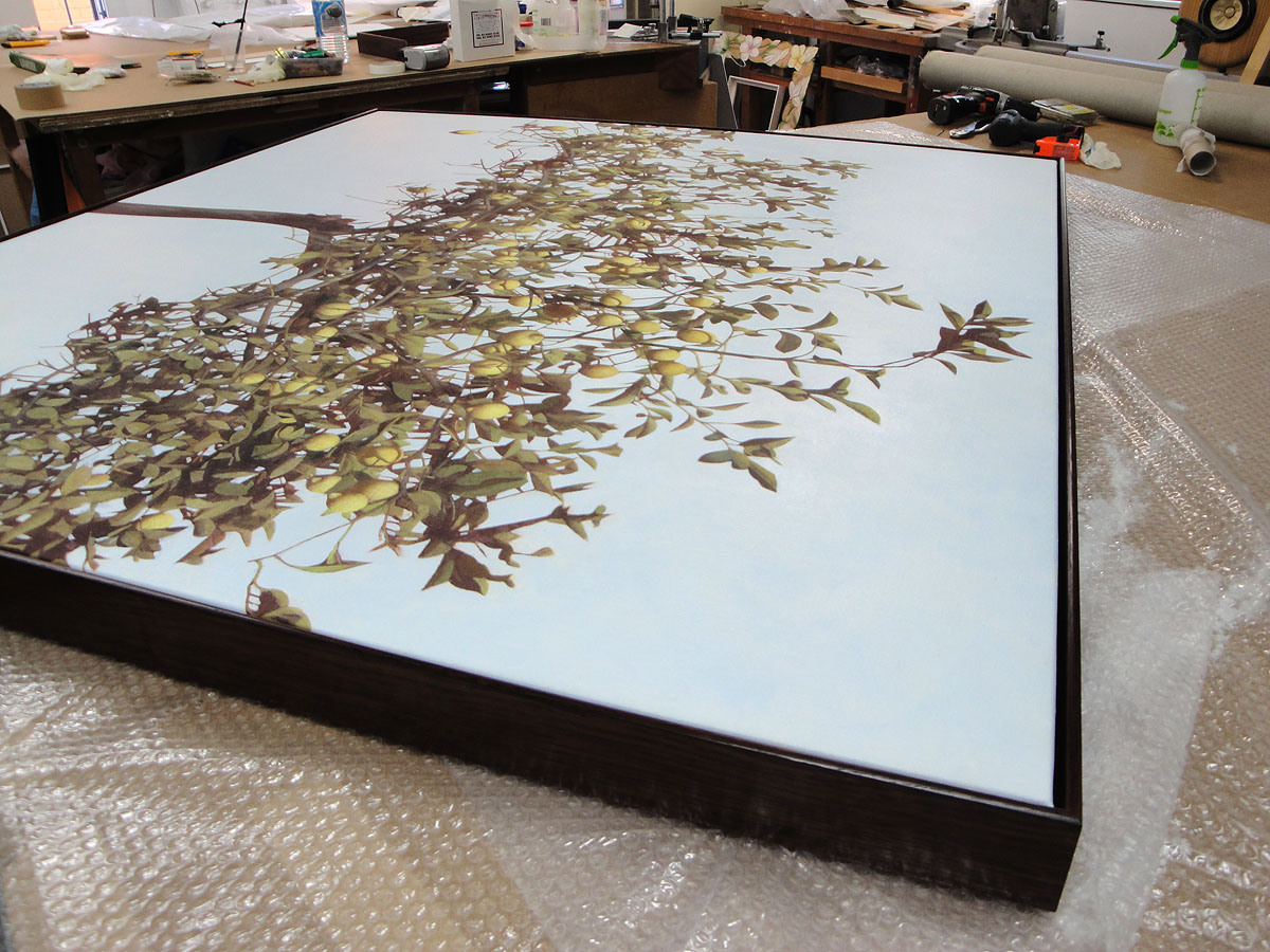Frame for William Delafield Cooke painting