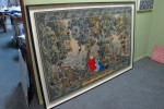 Framed Adrienne Doig painting