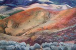 Detail of Sue Eckhard painting