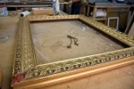 Gilt frame to be repaired