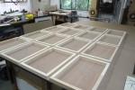 Preparation for Mandy Pryce-Jones panels