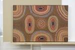 Aboriginal dot painting acrylic on canvas
