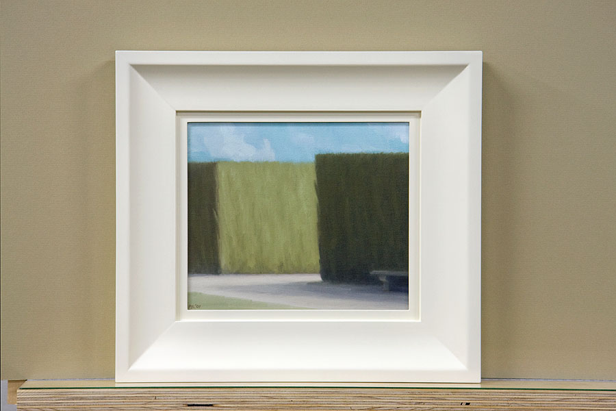 Unfinished frame for Boboli #14, 2009 by Peter Boggs